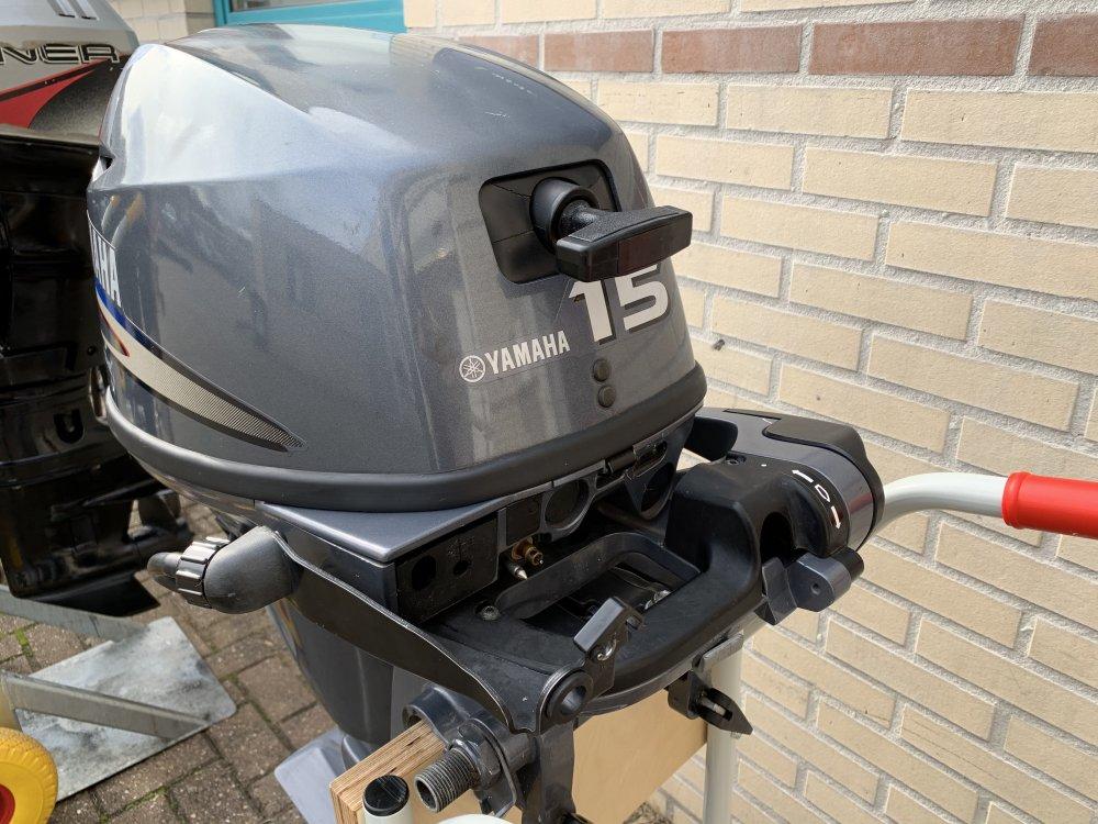 Yamaha 15 pk Kortstaart afstandbediend 4tak foto: 4