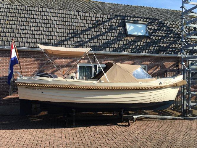 Interboat 22 met Vetus 3 cilinder diesel.  foto: 0