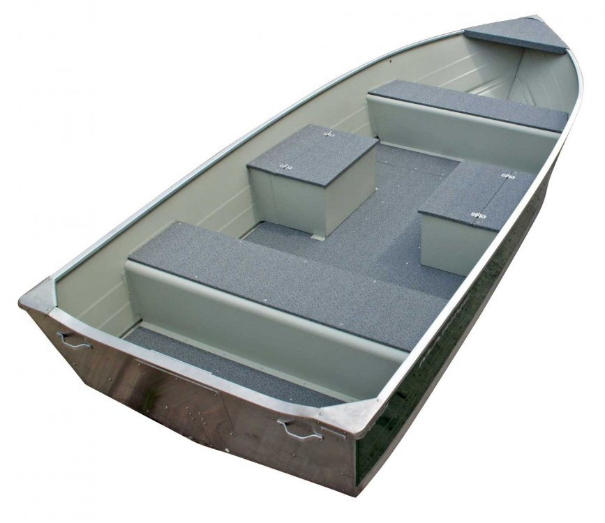 Marine 400 Fish Aluminium  visboot zeer scherp geprijsd!  foto: 9
