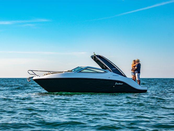 FIBRAFORT Style 242 GTC Mooie Cabine geschikt voor Outboard !! foto: 1