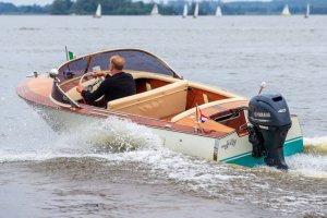 Arcangeli Antieke speedboot