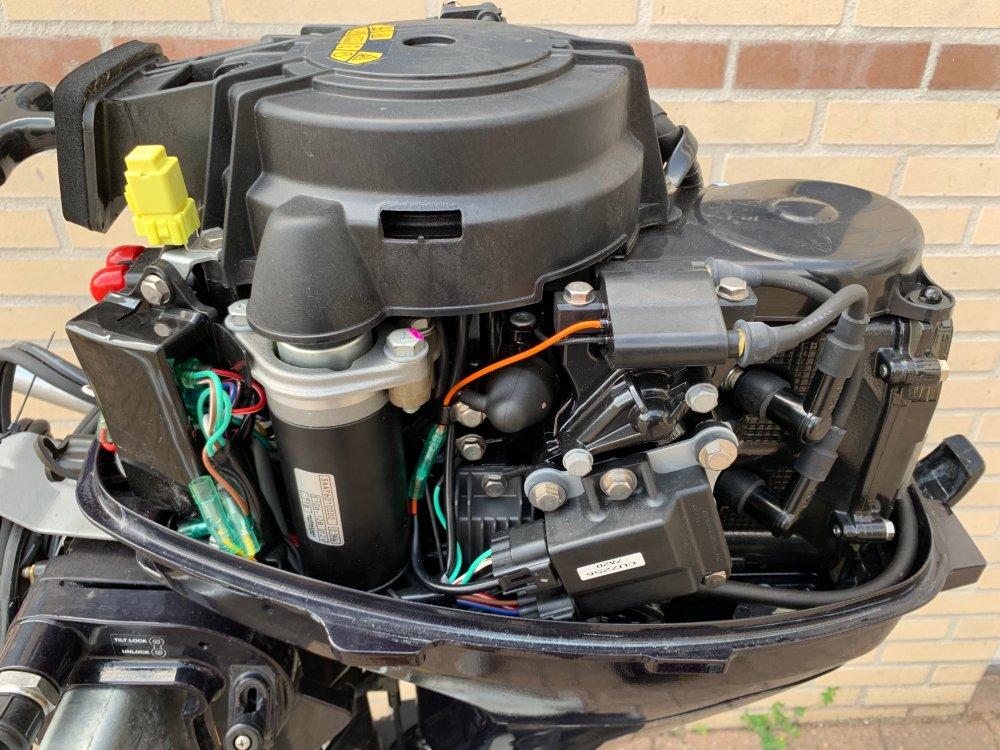 Tohatsu Nieuwe MFS9.8EPL 9.8pk afstandbediend elec. start buitenboordmotor foto: 11