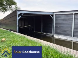 Solar boathouse  Model 6