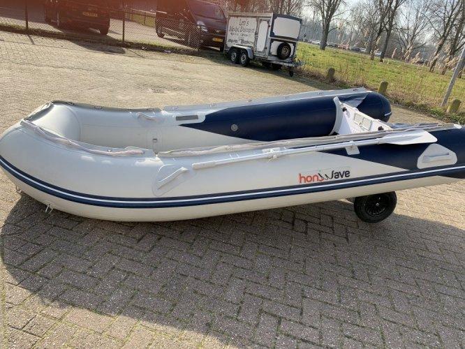 Honda Honwave T35 3,5M Rubberboot 8pk 4takt foto: 1