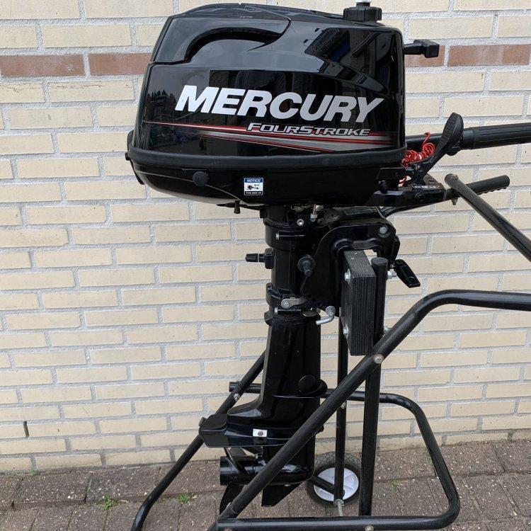 Mercury 6pk 4takt buitenboordmotor foto: 1