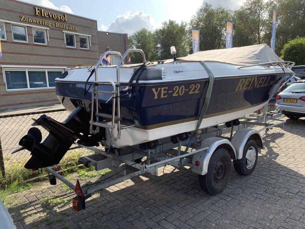 Reinell 19FT 6meter Speedboot 165pk foto: 3