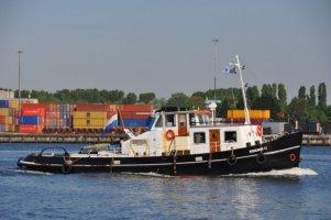 Sleepboot Tug boat CVO certificaat!