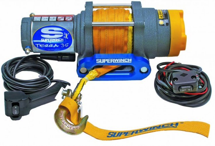Superwinch Terra 35 - Windenseil Foto: 0