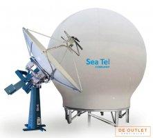 Cobham Seatel 9797A-23 marine stabalized dual-band VSAT antenna