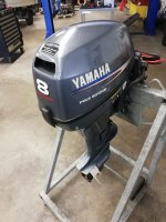 Yamaha FT8D High Thrust Kortstaart el. start