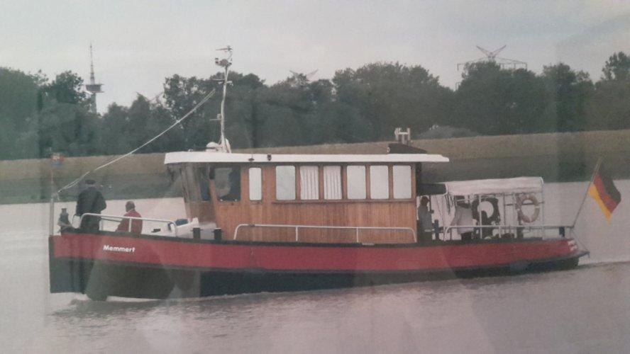 Sleepbot Haven sleepbot Motorbot Schlepper Hafenschlepper Wohnschiff Motorboot foto: 0