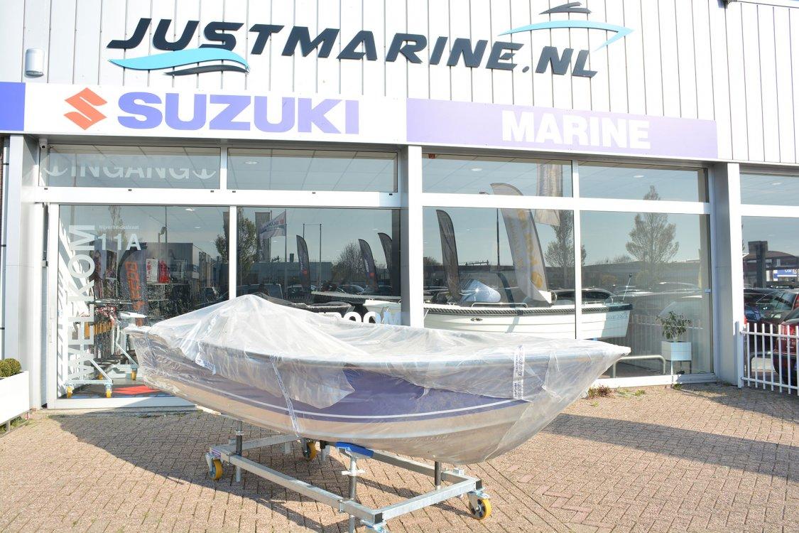 Marine 450 family Aluminium boot onderhoudsvrij! foto: 5