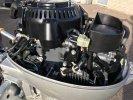 Honda 10pk 4 takt kortstaart zeer nette motor foto: 2