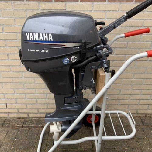 yamaha 8pk kortstaart buitenboordmotor F8CMHS foto: 1
