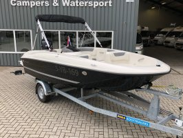 Bayliner Element E5 2018 with 80 hp Mercury and trailer