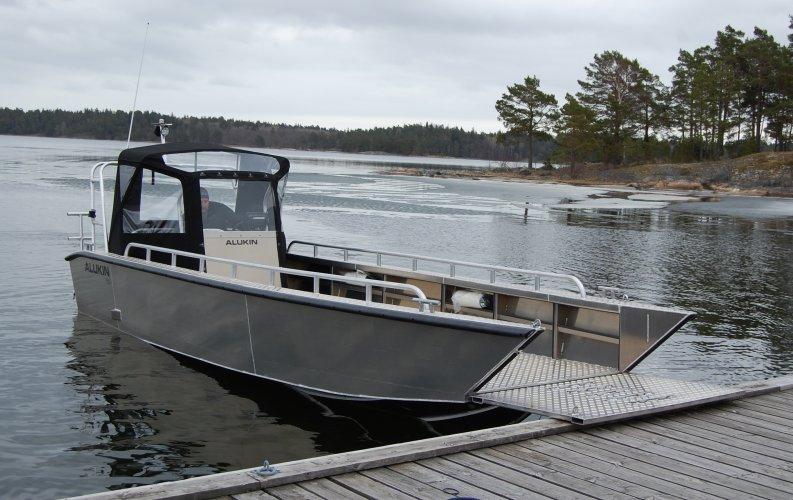 Alukin SPW 750 werkboot foto: 0