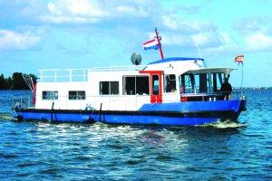 Yard of mill-hardinxveld-nl Houseboat steel