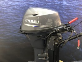 Yamaha outboard 20 hp long tail electric start remote control