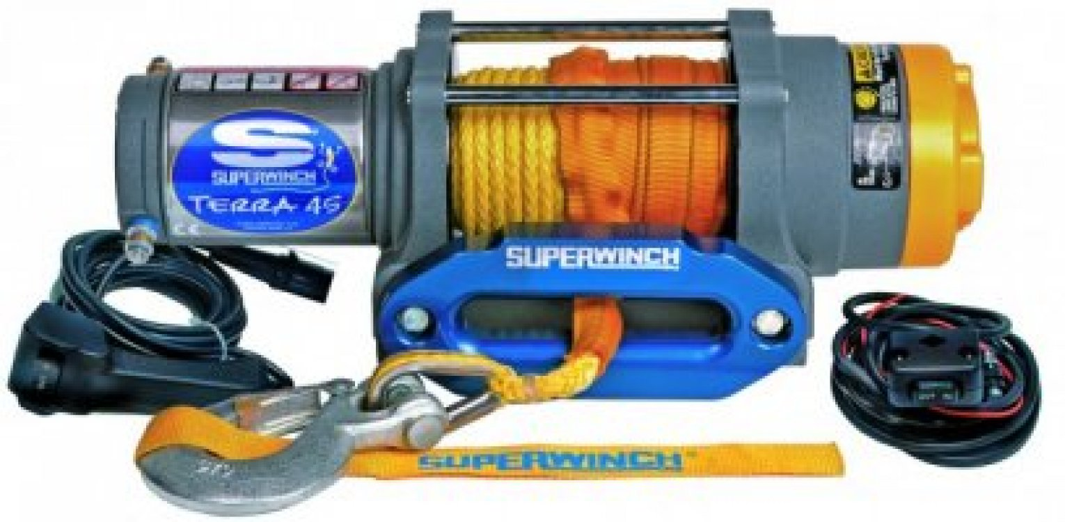 Superwinch Terra 45 - Liertouw foto: 0