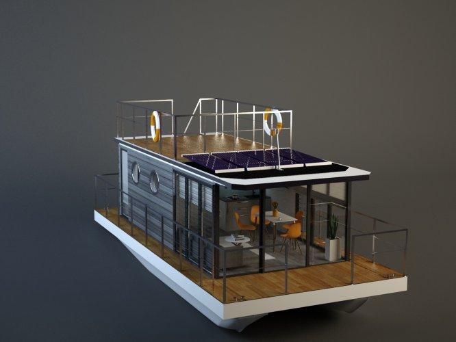 La Mare Houseboat Apartboat XXL foto: 0