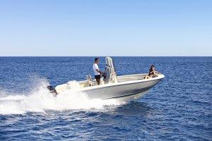 Invictus yacht Invictus 200 hx console boot