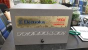 Electrolux 1000H inbouw benzine generator voor caravan of boot foto: 1