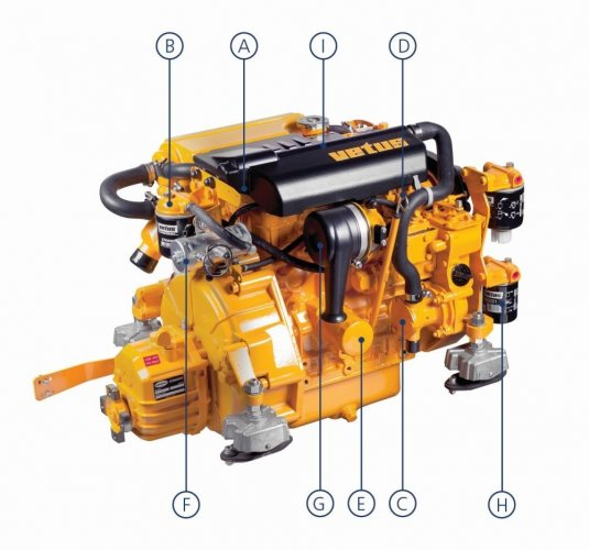 Engine M2.13 without gearbox Intercooling  foto: 1