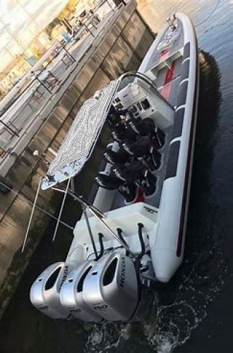 ribquest Velocity 2 chase boat foto: 0