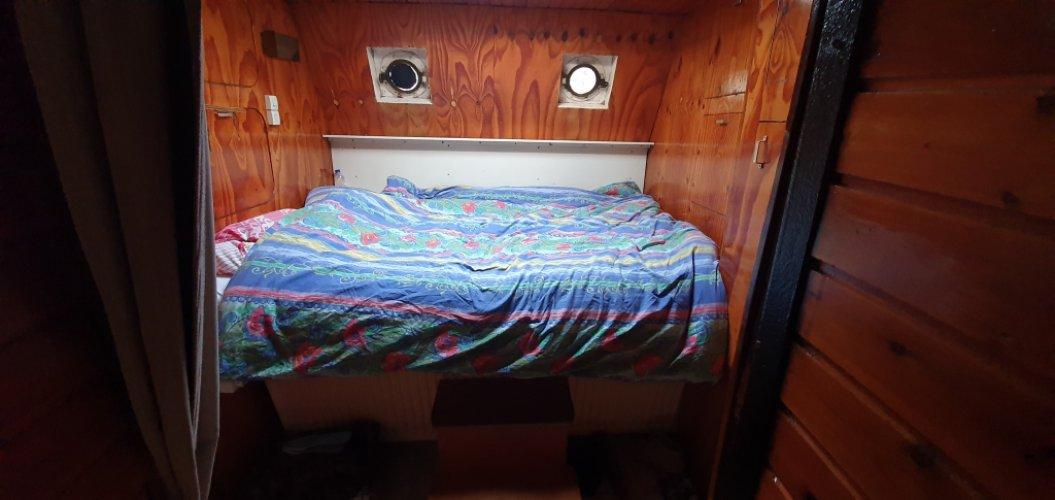 ex bunker schip woonboot/ recreatieschip foto: 1