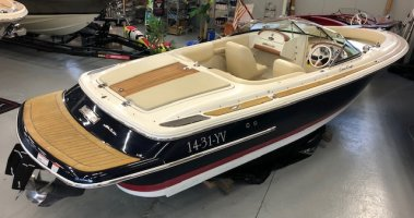 Chris Craft 22 Lancement