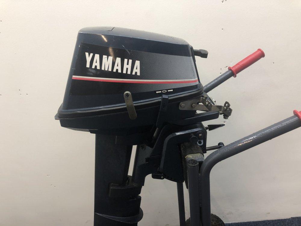 Yamaha outboard motor 6 pk 2 stroke 2 cylinder remotely