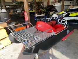 Barco pontón Zego incl. Yamaha 25HP