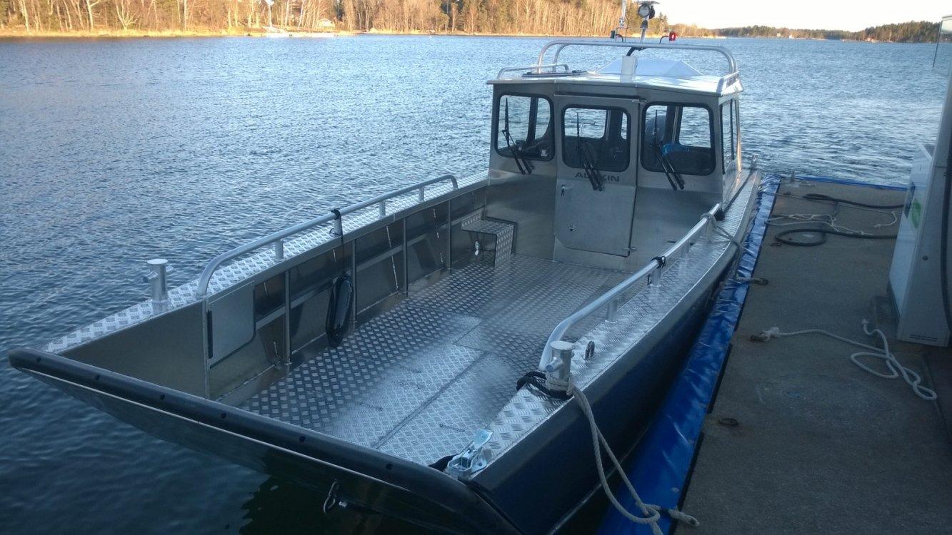 Alukin CWA 750 werkboot foto: 2