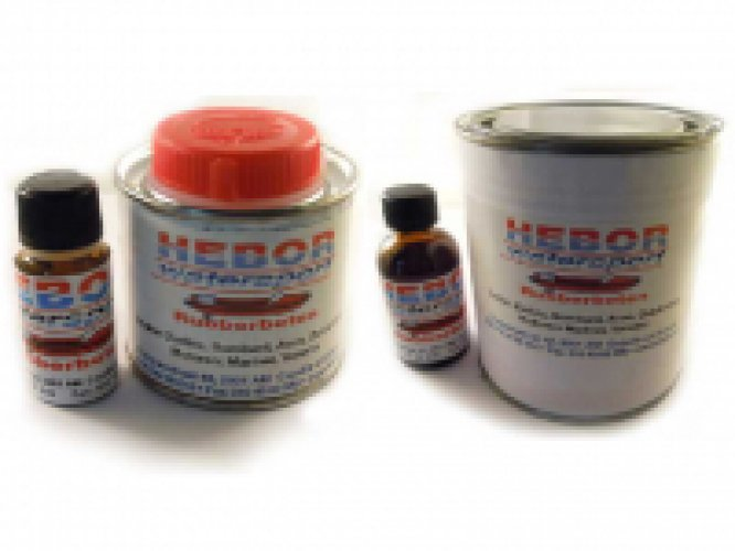 2 comp. Rubberboot lijm PVC en Hypalon 125 / 400 en 750ml lijm foto: 0