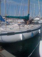 Yamaha 29 ft Kajuitzeilboot groupe finot, archambault