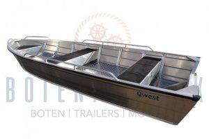 Qwest B380 / B420 Aluminiumboot NIEUW!