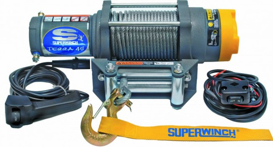 Superwinch Terra 45 - Steel cable photo: 0